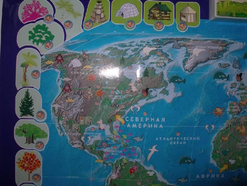 Иллюстрация 14 из 17 для Говорящая карта мира (6249) | Лабиринт - игрушки. Источник: Мариста