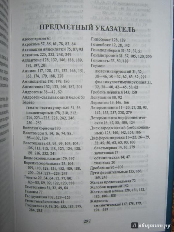 Иллюстрация 35 из 37 для Эмбриология. Учебное пособие - Студеникина, Слука | Лабиринт - книги. Источник: Евгения39