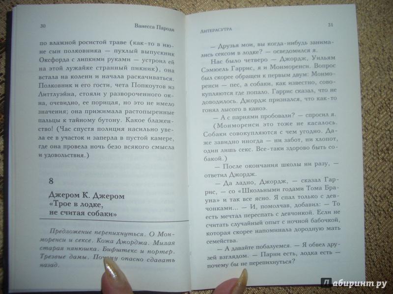 Иллюстрация 3 из 8 для Литерасутра. Знаменитые книги в эротическом переложении - Ванесса Пароди   Лабиринт - книги. Источник: BlackStar