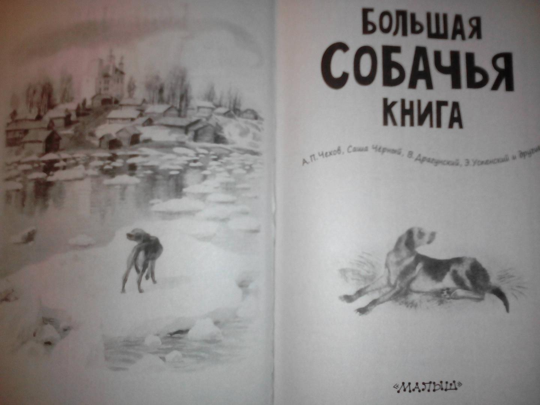 Иллюстрация 9 из 19 для Большая собачья книга - Чехов, Драгунский, Черный | Лабиринт - книги. Источник: харина  елена