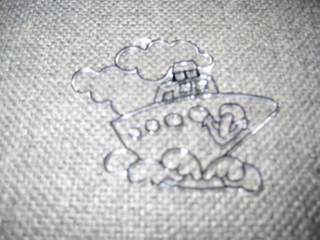 Иллюстрация 1 из 8 для Витраж малый: Кораблик | Лабиринт - игрушки. Источник: kitteyn