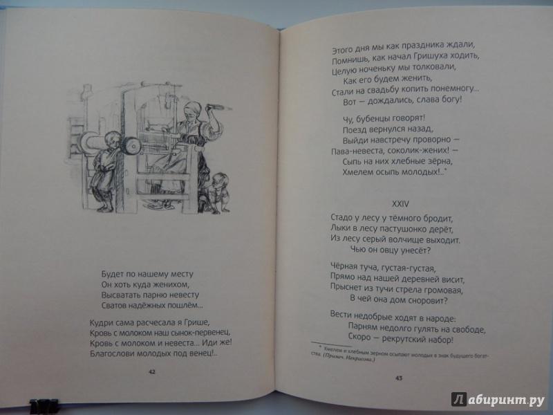 Иллюстрация 31 из 51 для Мороз, Красный нос - Николай Некрасов | Лабиринт - книги. Источник: Мелкова  Оксана