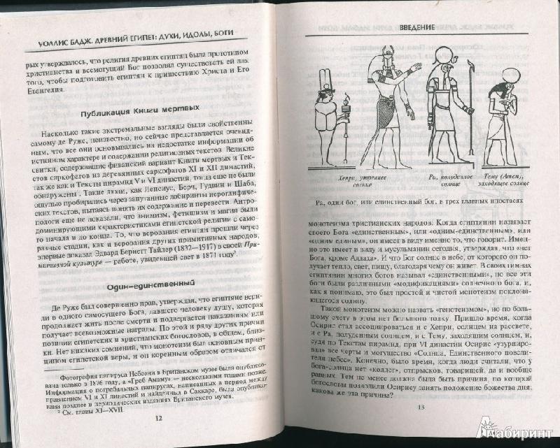 Иллюстрация 10 из 15 для Древний Египет: духи, идолы, боги - Уоллис Бадж   Лабиринт - книги. Источник: Rishka Amiss