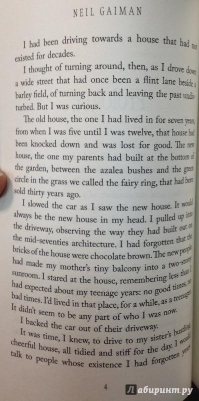 Иллюстрация 9 из 23 для Ocean at the End of the Lane - Neil Gaiman | Лабиринт - книги. Источник: Tatiana Sheehan
