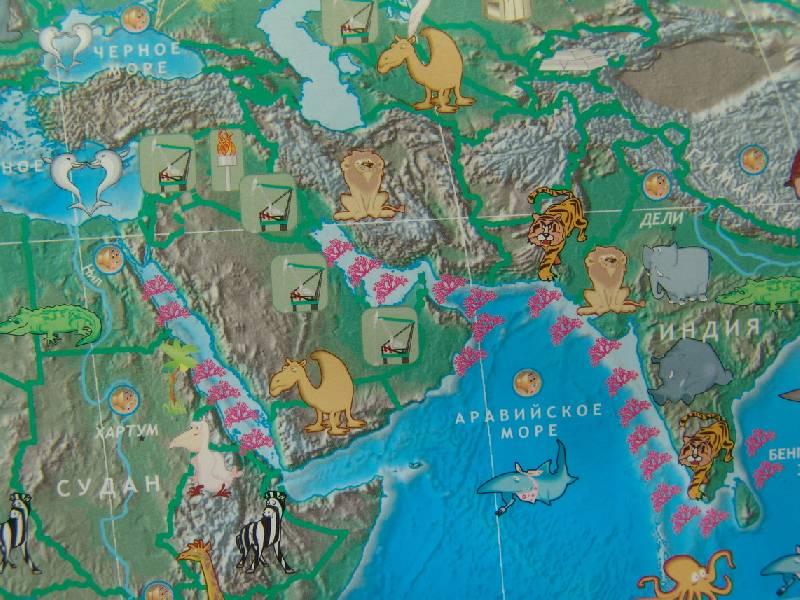 Иллюстрация 9 из 17 для Говорящая карта мира (6249) | Лабиринт - игрушки. Источник: Лаванда