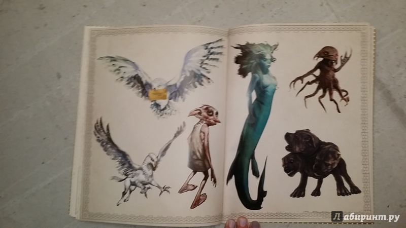 Иллюстрация 41 из 46 для Гарри Поттер. Волшебная раскраска ...