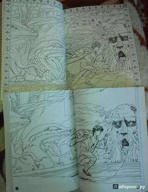 Иллюстрация 23 из 46 для Гарри Поттер. Волшебная раскраска ...