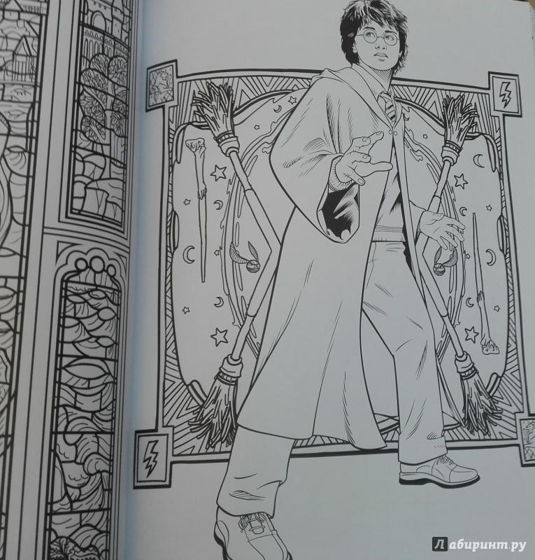 Иллюстрация 41 из 60 для Гарри Поттер. Волшебники и где их ...