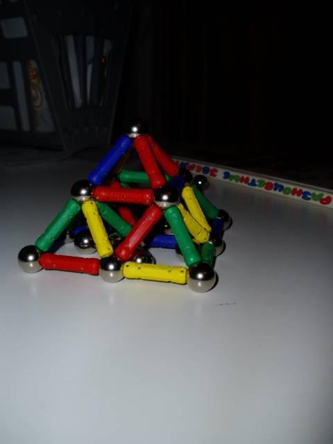 Иллюстрация 10 из 14 для Конструктор магнитный (89 элементов) (1107)   Лабиринт - игрушки. Источник: Стич