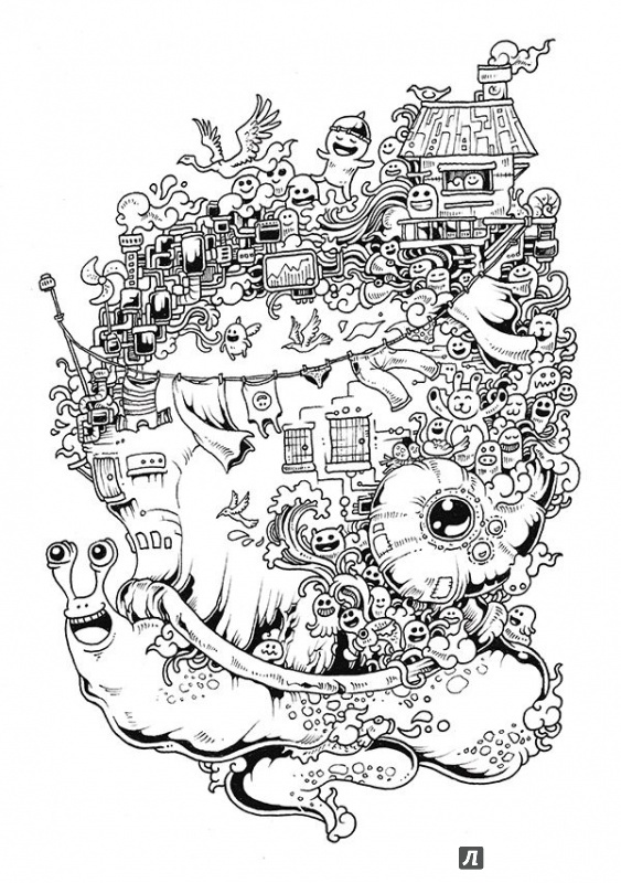 Иллюстрация 14 из 107 для Вторжение дудлов. Не самая ...