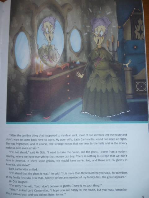 Иллюстрация 33 из 36 для Английский в фокусе. Кентервильское привидение (по О. Уайльду). Книга для чтения. 8 класс - Оскар Уайльд   Лабиринт - книги. Источник: Avid Reader