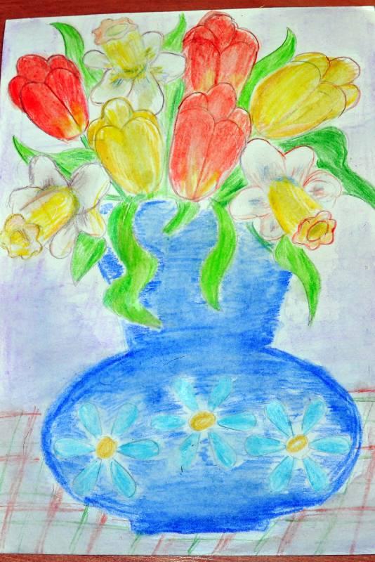 Иллюстрация 7 из 12 для Трафарет фигурный. Ваза с цветами | Лабиринт - игрушки. Источник: Ассоль