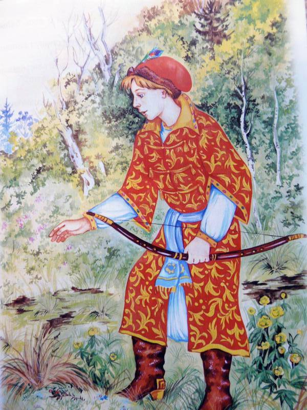 Иван царевич из сказки картинки
