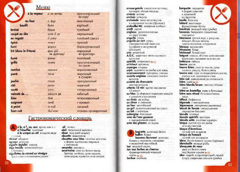 Иллюстрация 16 из 20 для Французский разговорник и словарь   Лабиринт - книги. Источник: Ялина