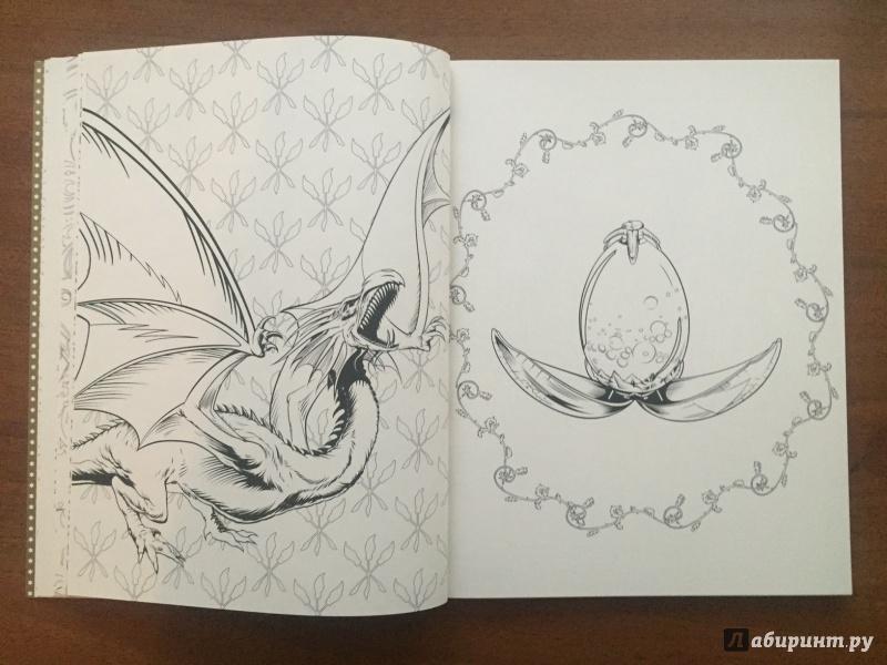 Иллюстрация 10 из 47 для Гарри Поттер. Волшебная раскраска ...