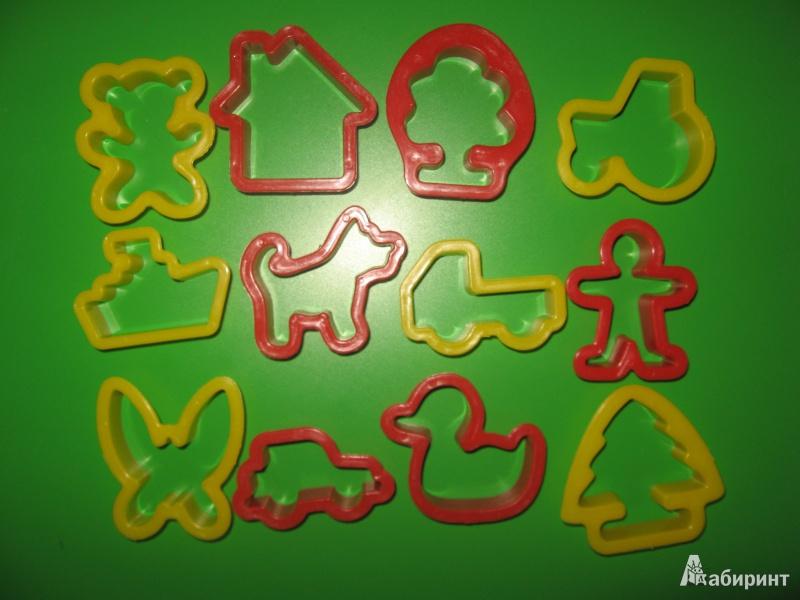 Иллюстрация 4 из 4 для Набор формочек, 12 штук (11С 752-08) | Лабиринт - игрушки. Источник: Гаранина  Людмила