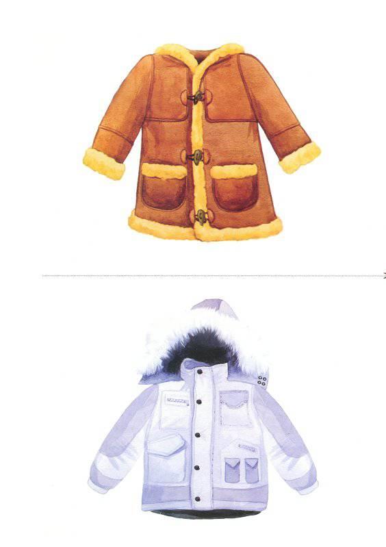 картинки зимняя одежда для доу многоуровневый паркинг