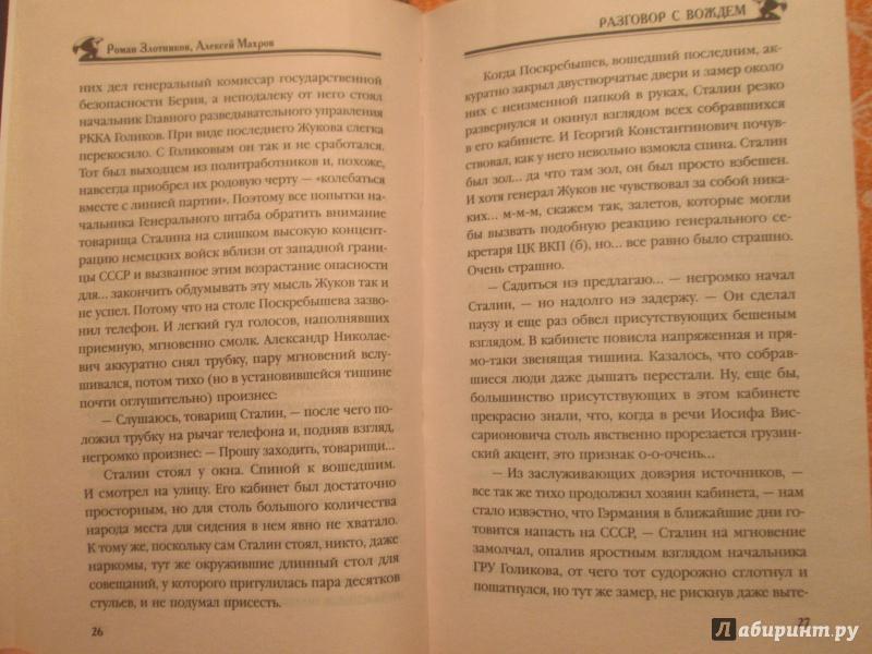 Иллюстрация 21 из 37 для Разговор с Вождем - Злотников, Махров | Лабиринт - книги. Источник: NiNon