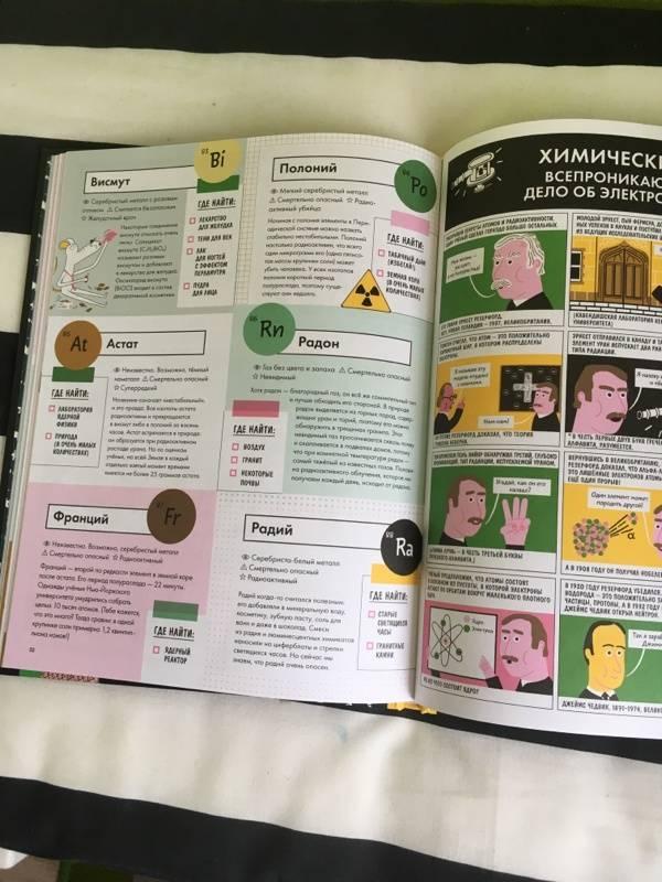 Иллюстрация 13 из 50 для Элементарно! Вся таблица Менделеева у тебя дома - Майк Барфилд   Лабиринт - книги. Источник: Гаязова  Ольга