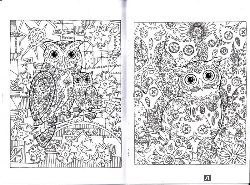 картинки для распечатки и раскраски в блокнот совушки обработка волокон позволяет