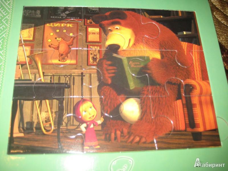 Иллюстрация 3 из 9 для Подкидыш. Маша и Медведь   Лабиринт - игрушки. Источник: Ярославна ))