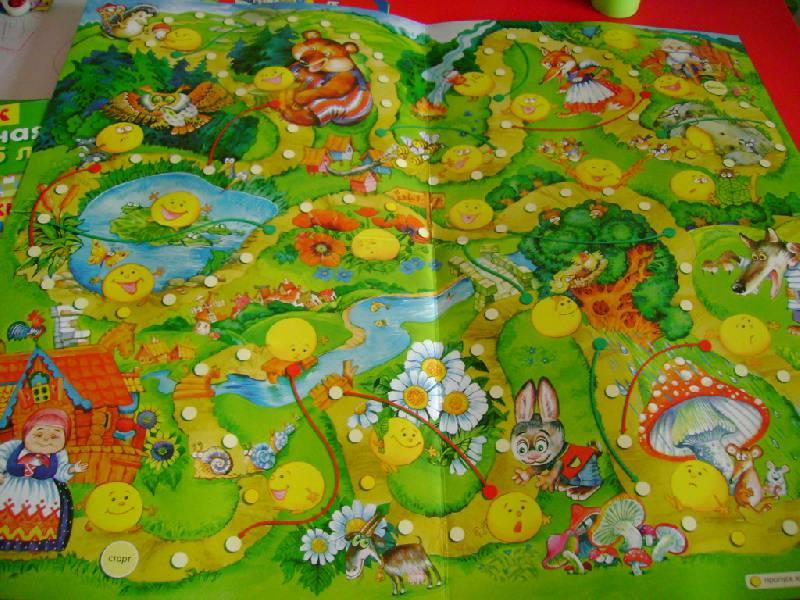 Иллюстрация 6 из 12 для Ходилки. Приключения колобка | Лабиринт - игрушки. Источник: Шмидт  Н С