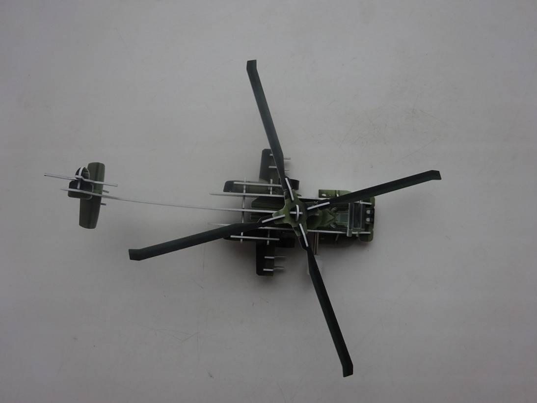 Иллюстрация 8 из 16 для 3D-пазл. Волшебный механизм. Вертолет | Лабиринт - игрушки. Источник: Iliy