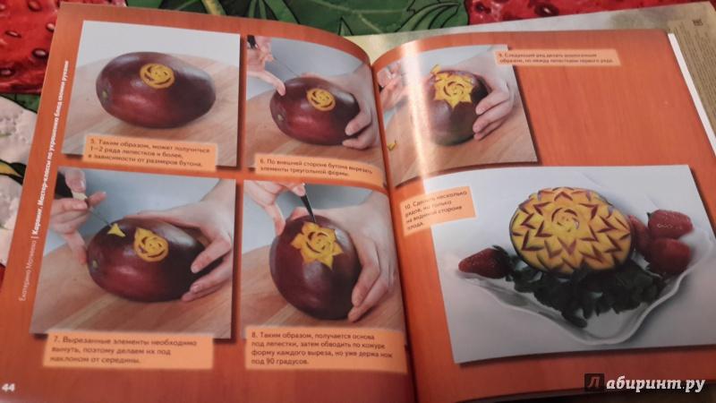 Иллюстрация 7 из 12 для Карвинг: мастер-классы по украшению блюд своими руками - Екатерина Матвеева | Лабиринт - книги. Источник: Марина мама