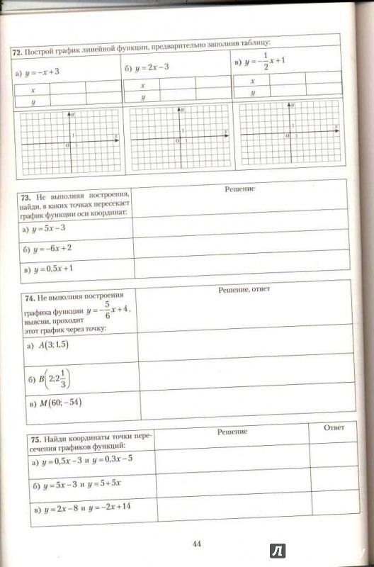 Иллюстрация 5 из 8 для Алгебра. 7 класс. Практикум. Готовимся к ГИА. Учебное пособие - Лариса Крайнева | Лабиринт - книги. Источник: Елена Весна