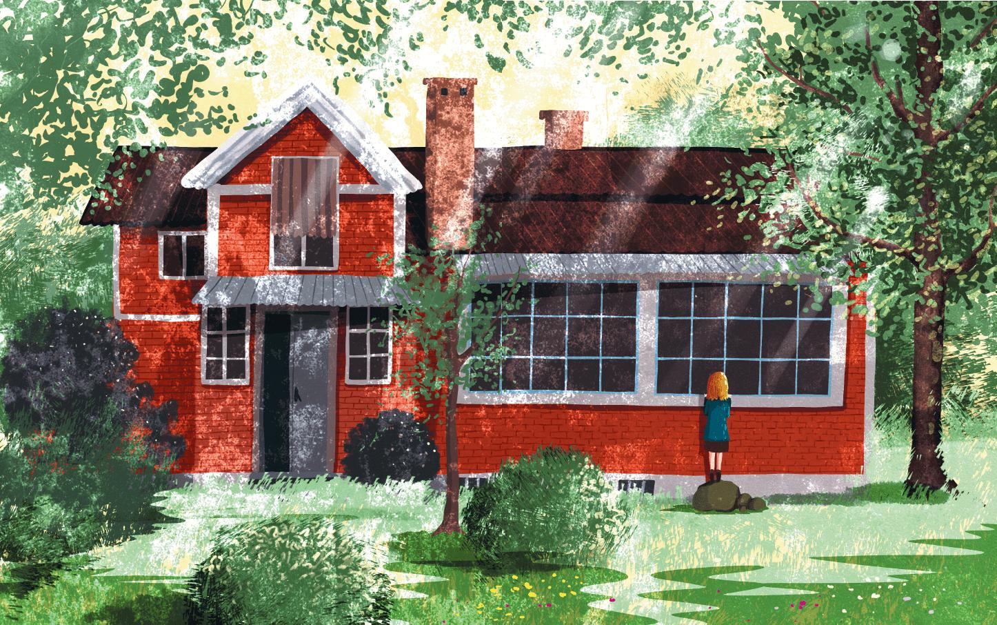 Иллюстрация 17 из 56 для Добывайки в поле - Мэри Нортон   Лабиринт - книги. Источник: Редактор этой книги