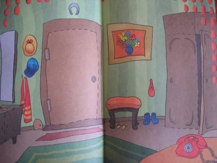 Иллюстрация 9 из 10 для Бумажная кукла с домиком. Кошечка Леся   Лабиринт - книги. Источник: Д@н@я
