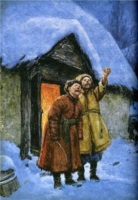 Иллюстрация 32 из 94 для Вечера на хуторе близ Диканьки - Николай Гоголь | Лабиринт - книги. Источник: Гостья