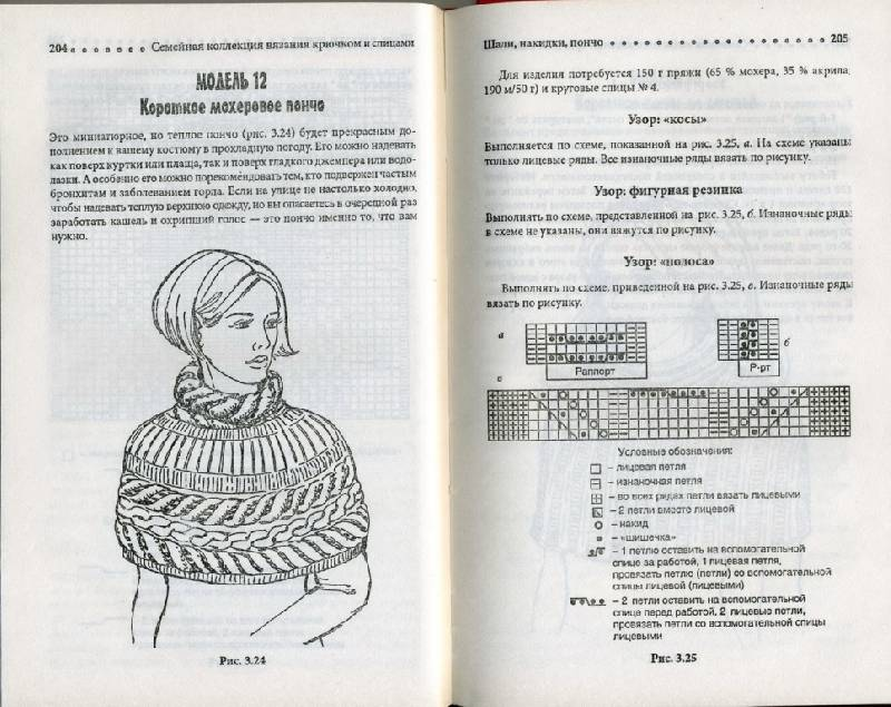 Иллюстрация 22 из 24 для Шали, пончо, накидки | Лабиринт - книги. Источник: Юта