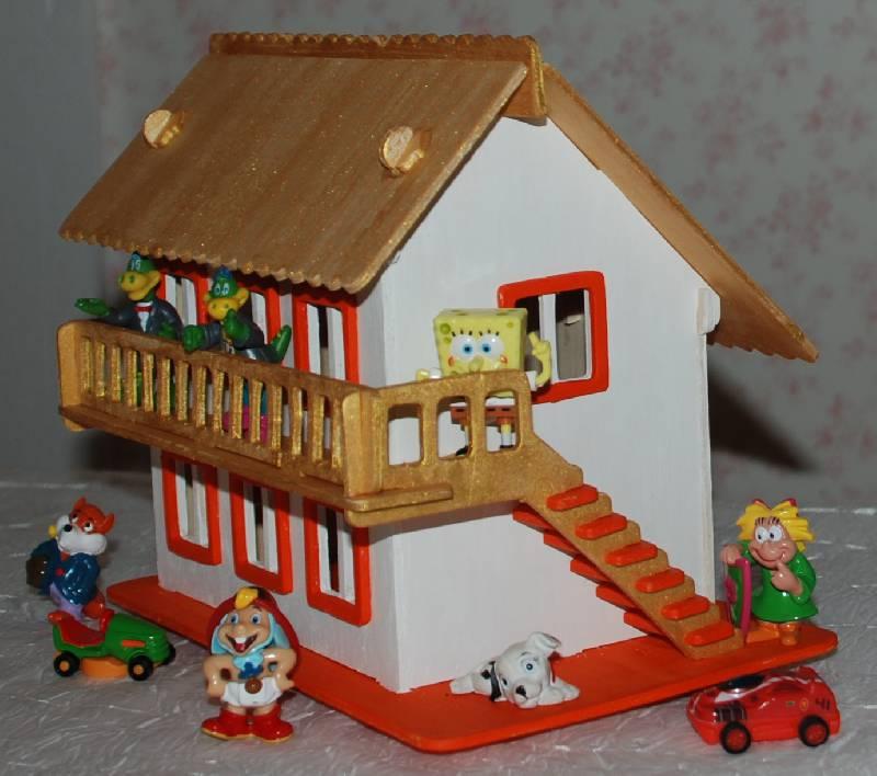 """Иллюстрация 6 из 6 для Сборная модель """"Деревянный домик"""" (PH065)   Лабиринт - игрушки. Источник: МаRUSя"""