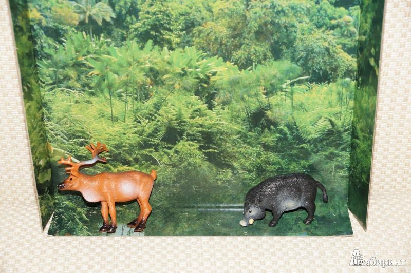 Иллюстрация 2 из 2 для Дикие животные (13763 9652) | Лабиринт - игрушки. Источник: Mamulechka