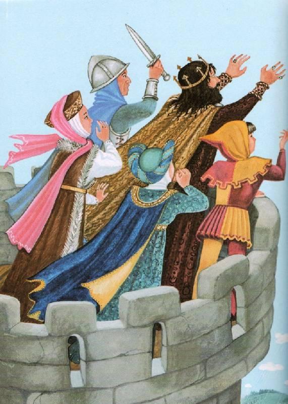 Иллюстрация 12 из 25 для Сказки на ночь | Лабиринт - книги. Источник: Zhanna