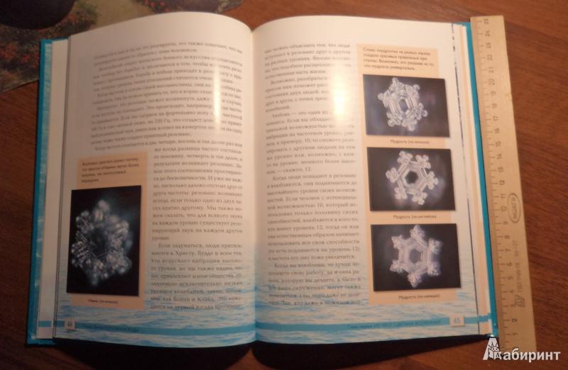 Иллюстрация 15 из 21 для Послания воды: Тайные коды кристаллов льда - Масару Эмото | Лабиринт - книги. Источник: Tina0629
