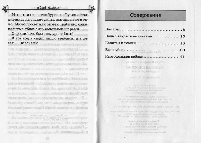 Иллюстрация 12 из 12 для Капитан Клюквин и другие рассказы - Юрий Коваль   Лабиринт - книги. Источник: Наталья'