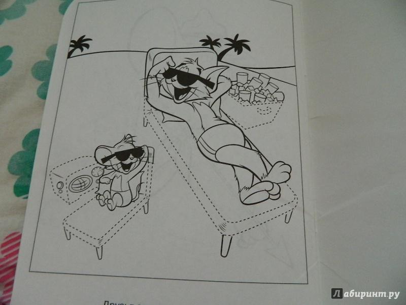 Иллюстрация 9 из 9 для Умная раскраска. Том и Джерри (№1373) | Лабиринт - книги. Источник: Nnatalek