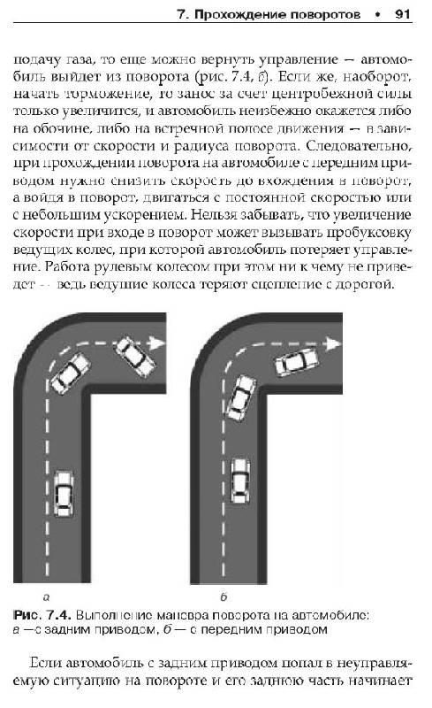 Картинки прохождения поворотов