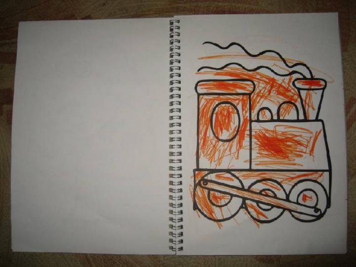 раскраска прозрачные страницы жираф 06201