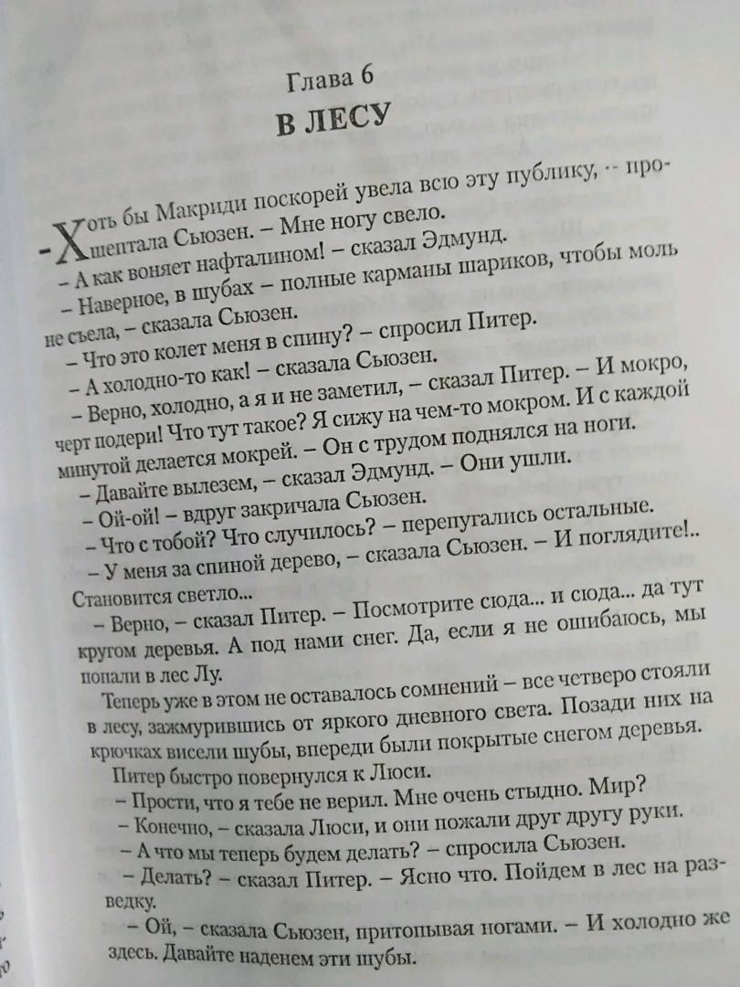 Иллюстрация 5 из 14 для Лев, Колдунья и Платяной шкаф - Клайв Льюис | Лабиринт - книги. Источник: Чигинский  Сергей