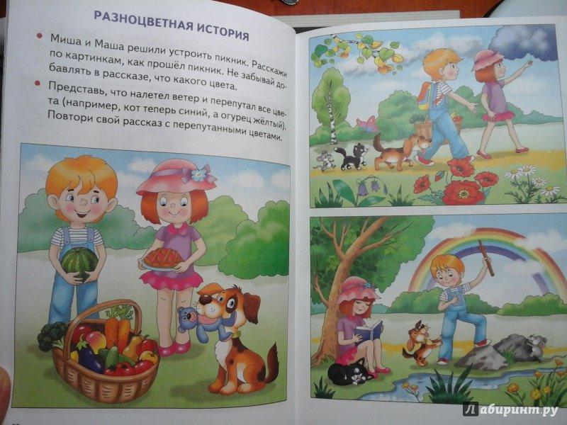 Составление книги по картинками