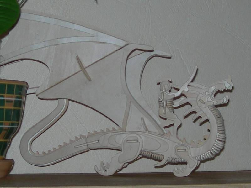 Иллюстрация 5 из 8 для Летящий Дракон и Всадник (М042)   Лабиринт - игрушки. Источник: Зотикова  Екатерина Аркадьевна