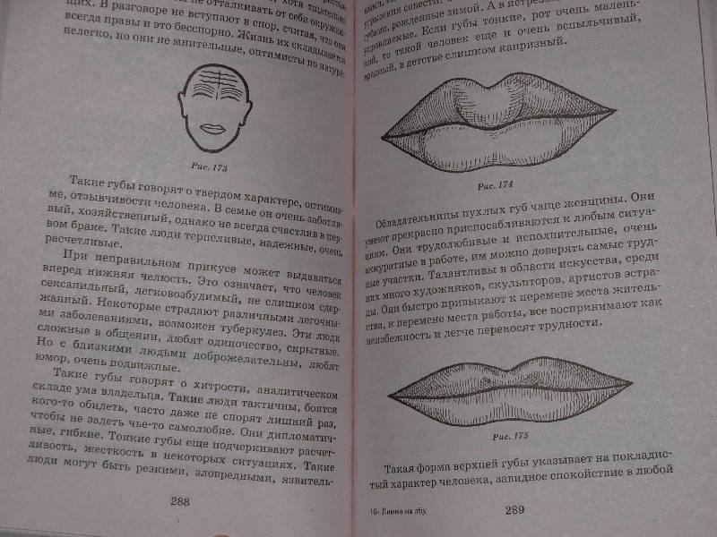 Физиогномика для начинающих в картинках