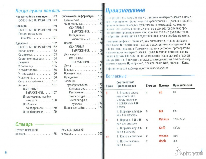 таблица немецких и русских слов перевод фото если зуб