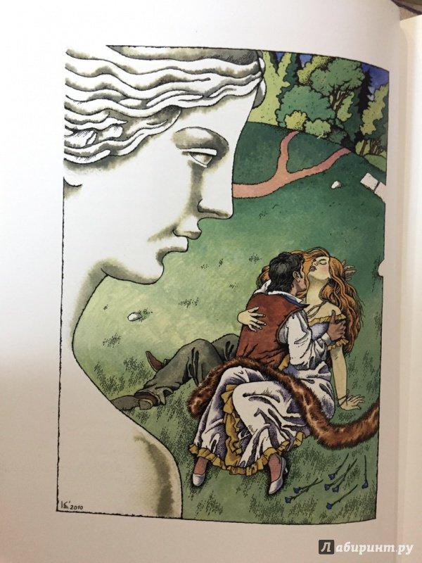 Иллюстрации к венере в мехах