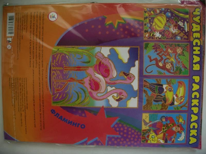 Иллюстрация 1 из 3 для Чудесные раскраски. Фламинго | Лабиринт - игрушки. Источник: Tiger.