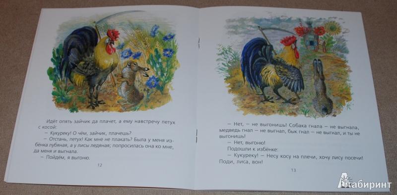 Иллюстрация 17 из 51 для Лиса и заяц - Евгений Чарушин | Лабиринт - книги. Источник: Книжный кот