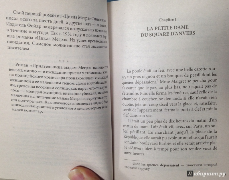 Иллюстрация 4 из 6 для L'Amie de Madame Maigret - Жорж Сименон | Лабиринт - книги. Источник: Tatiana Sheehan